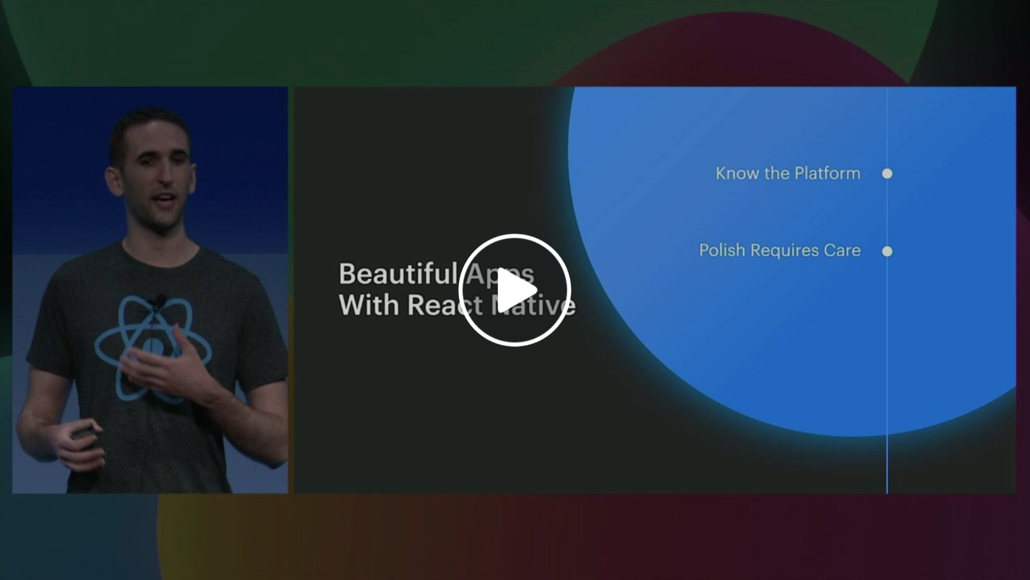 F8 Talk about React Native